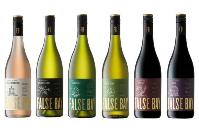 Labelwijziging False Bay