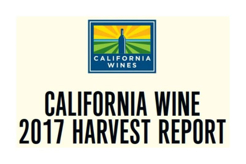 California Wine 2017 oogstrapport