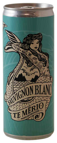Afbeelding van Te Merio Sauvignon Blanc (blik 25cl)