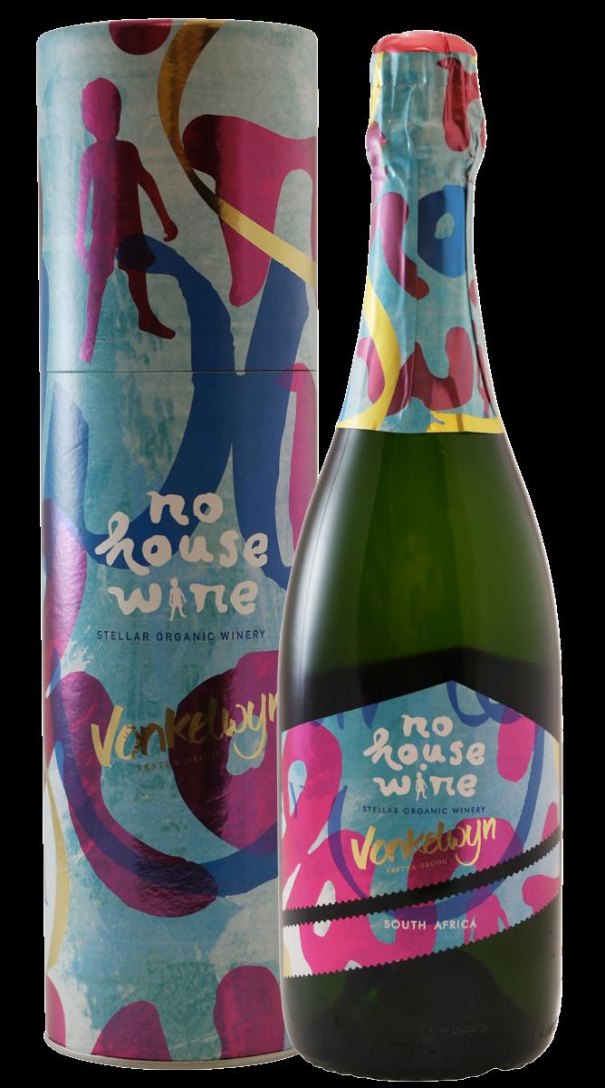 Afbeelding van No House Wine Vonkelwijn in geschenkkoker