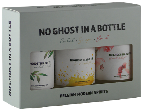 Afbeelding van No Ghost in a Bottle Mini collection (3 x 0,1 liter)