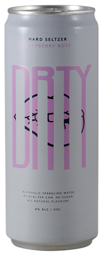 Afbeelding van DRTY Hard Seltzer Raspberry rosé